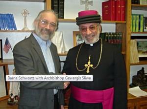 Баррі Шворц - засновник сайту shroud.com і архієпископ Гевардіс Сліва
