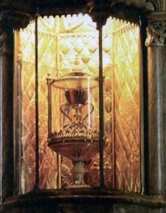 Чаша Грааля з Валенсії - чаша, з якої приймали перше причастя