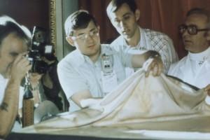 Фотографування полотна у 1978 році командою STURP