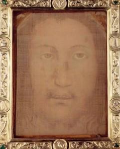 Ікона, яка може бути платом Вероніки, Монапелло, Італія