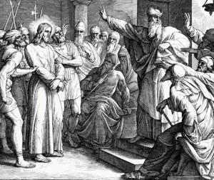Ісус і первосвященик Каяфа