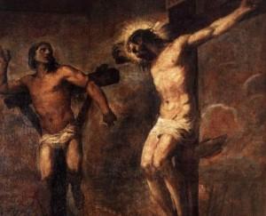 Ісус прощає розбійника на Хресті