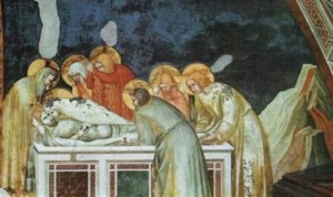 Ісуса готують до поховання