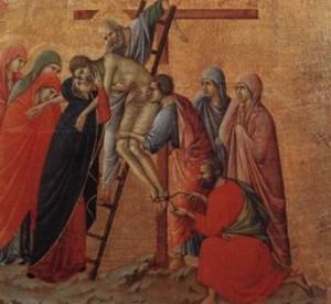 Ісуса знімають з Хреста