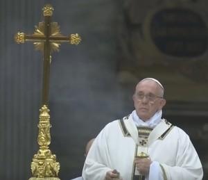 Папа Франциск на Різдвяній Месі у Ватикані