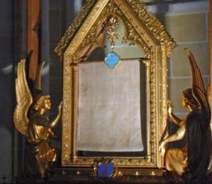 Плат Богородиці у Шартрі