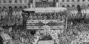 Показ Плащаниці в 1613 році