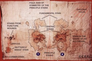 Пояснення до зображення (плям крові) на Сударіумі