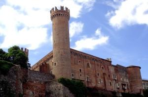 Савойська фортеця Івреа, де Плащаниця зберігалася з 5 жовтня до 18 липня 1974 року і з 25 серпня 1974 по 5 жовтня 1475 року