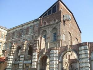 Савойський замок Ріволі, де Плащаниця зберігалася після Шамбері і був показ 4 травня 1535 року