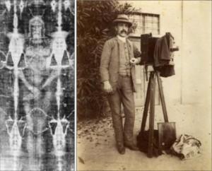 Секондо Піа зробив першу фотографію Плащаниці