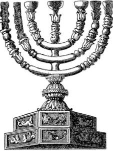 Стародавній семисвічник - його можна побачити в синагогах і християнських храмах
