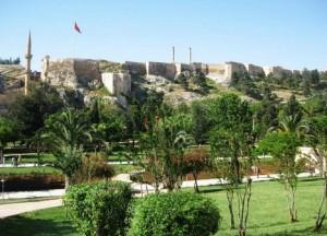 Стіни Едесси, сучасне місто Урфа