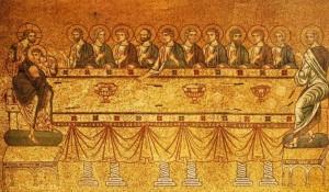 Тайна вечеря на мозаїці собору святого Марка у Венеції