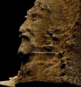 Тривимірне зображення обличчя з Плащаниці