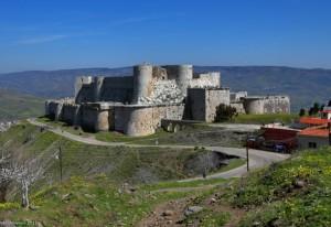 Замок Госпітальєрів Крак де Шевальє