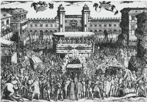 Показ Туринської Плащаниці у Турині у 1613 році