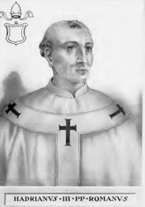 Святий Папа Адріан Третій