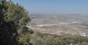 Вид з гори Карміл