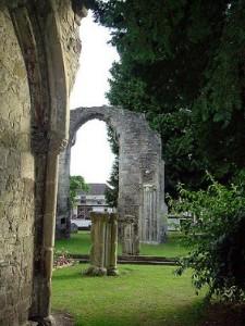 Руїни Вілтонського аббатства у Вілтшрі