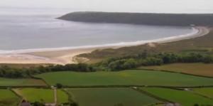 Морська затока в Уельсі
