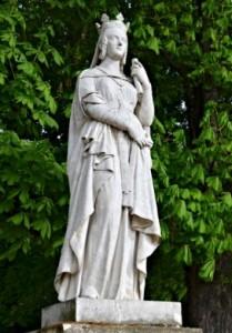 Пам'ятник святій Батильді, королеві франків