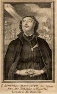 Портрет Едмунда Арроусміта невідомого художника 18 століття