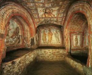 Християнська церква в римських катакомбах