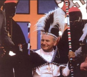 Іоанн Павло ІІ в Африці
