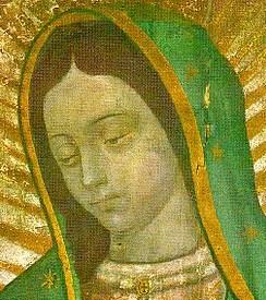 Обличчя Матері Божої Гваделупської