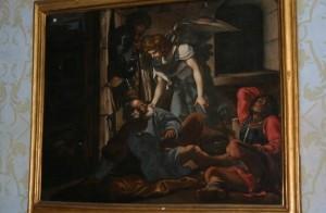 Ланцюги спадають із святого Петра