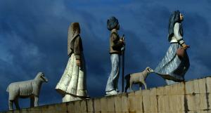 Пам'ятник Люсії, Франсіско та Жасінті