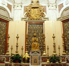 Вівтар у соборі Отранто із головами мучеників