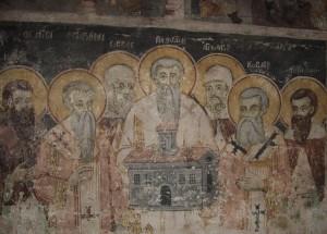 Семичисленники, третій справа - Ангеларій