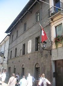 Будинок в АостІ, де народився Ансельм