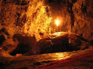 Місце, де спав святий Антоній