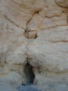 Печера, у якій жив святий Антоній