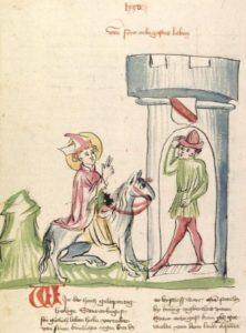 Святий Арбогаст в'їжджає в Страсбург