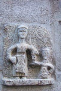 Стародавнє зображення Валерії Міланської