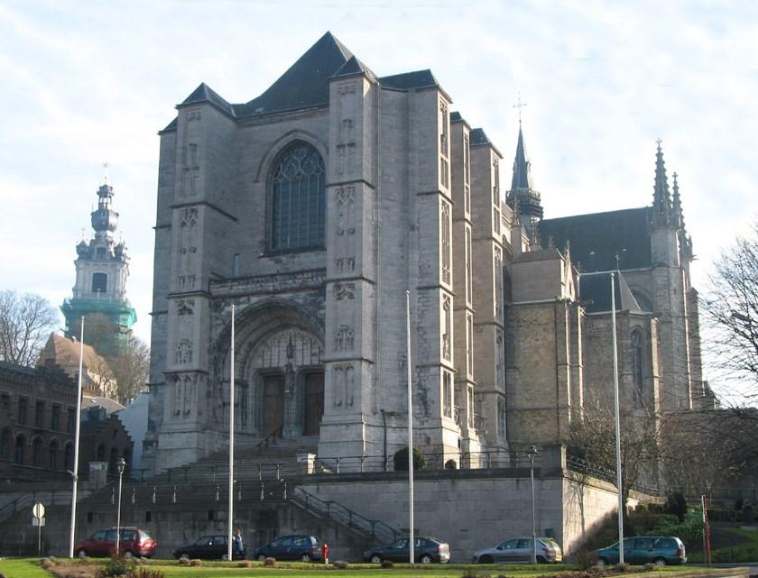 Храм святої Вальдетруди у місті Монс, Бельгія
