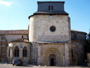 Храм святого Вікентія у Мас д'Ажене