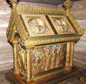Скринька з мощами святого Віро, Плехейма та Отгера