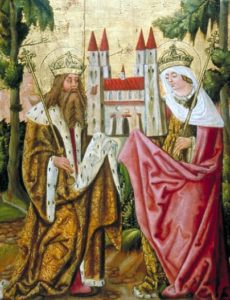 Святий Генріх та його дружина свята Кунігунда