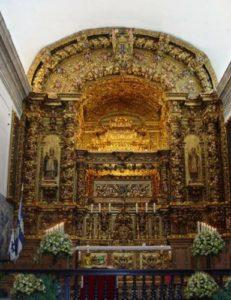 Вівтар з мощами святого Геральда Бразького