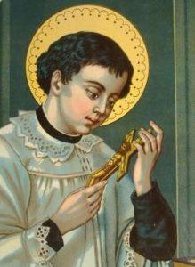 Святий Алоїзій Гонзага