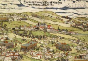 Теруан у XVI столітті