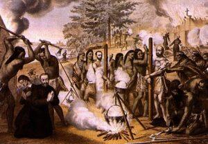 Святий Антуан Даніель серед канадських мучеників